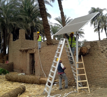 Decentralized Solar Energy in Egypt