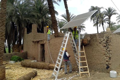 Decentralized Solar Energy in Egypt
