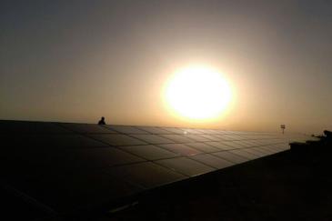 One of Jordan's many solar energy projects